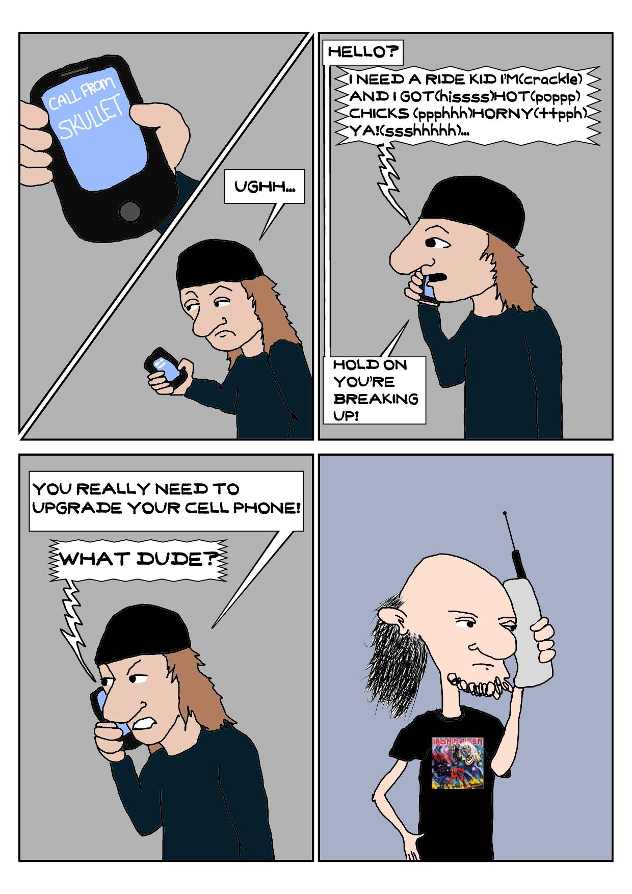 Skullet-Cell Phone