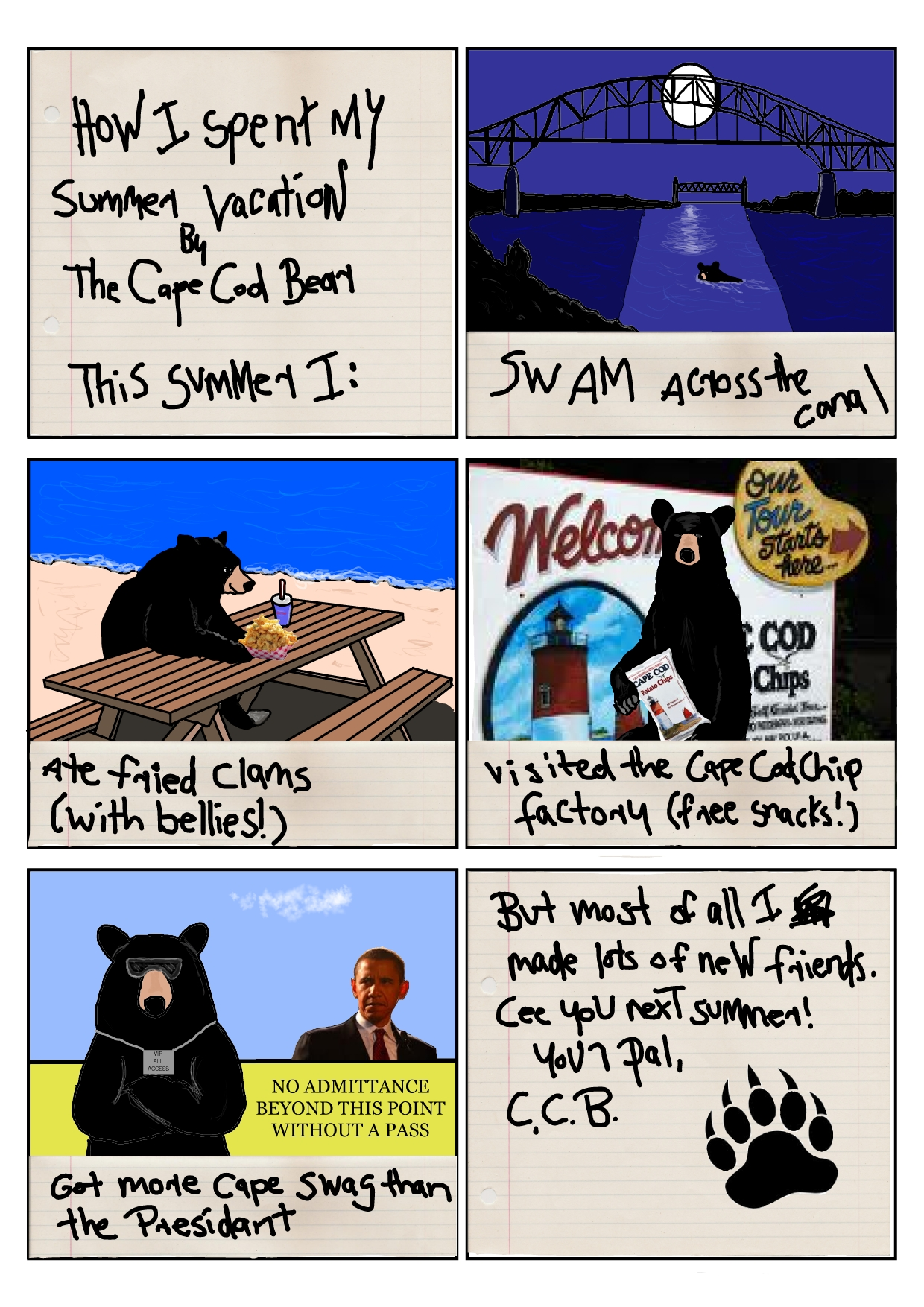 The Accidental Bear Tourist