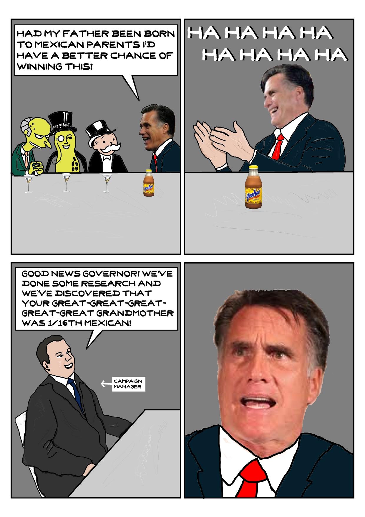 Romney Tape Gag Reel