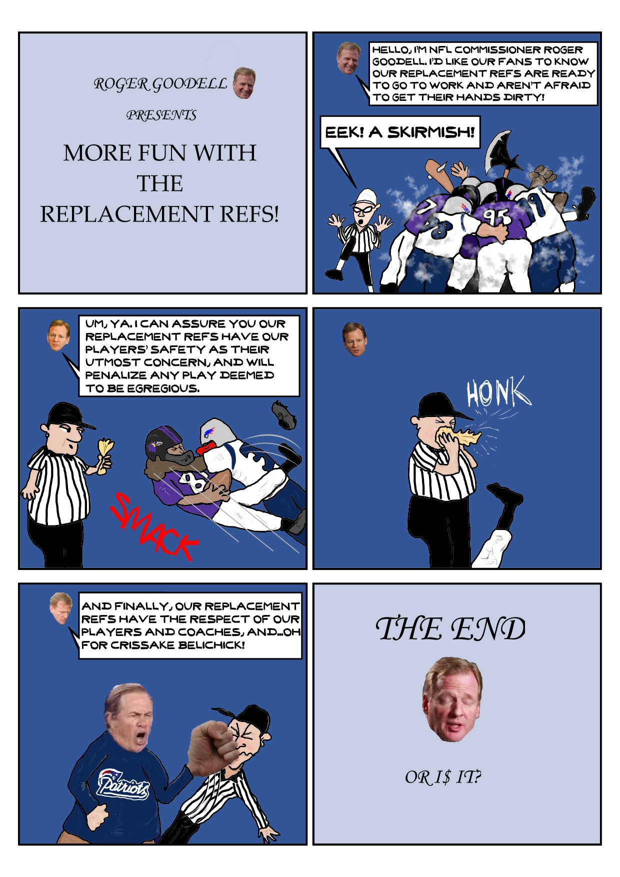 More Fun With The Replacement Refs