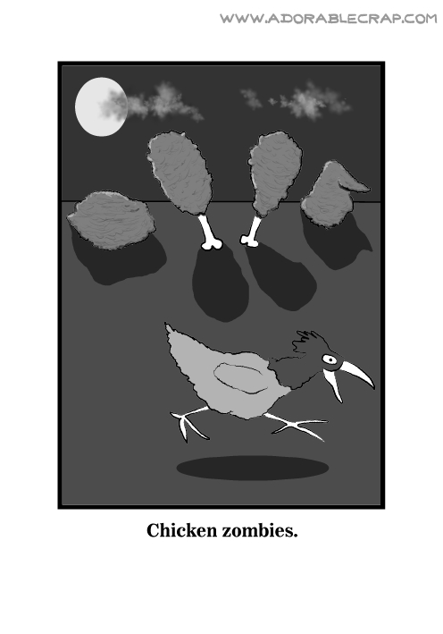 Chicken Of The Grave